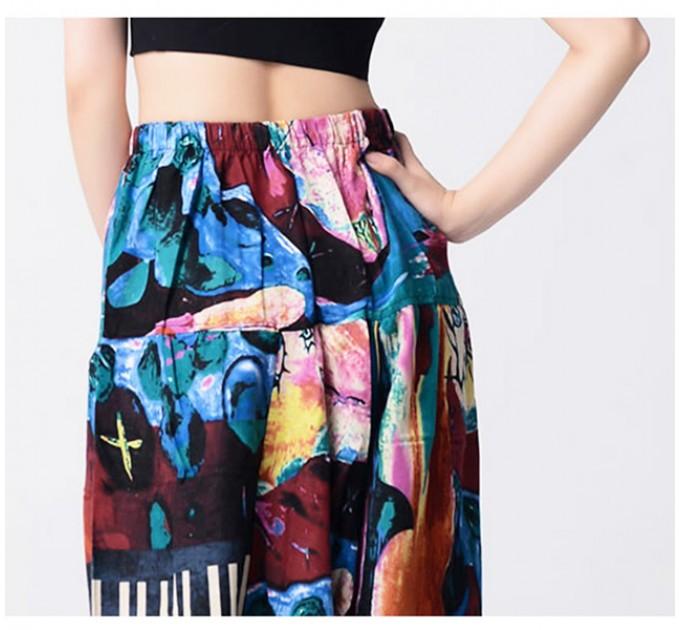 Жіночі брюки з низькою матнею