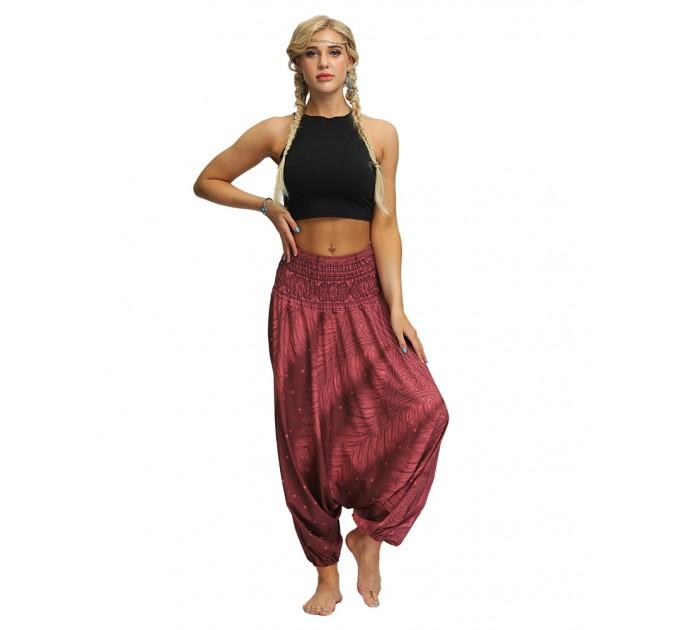 Штани жіночі шароварами пляжні легкі