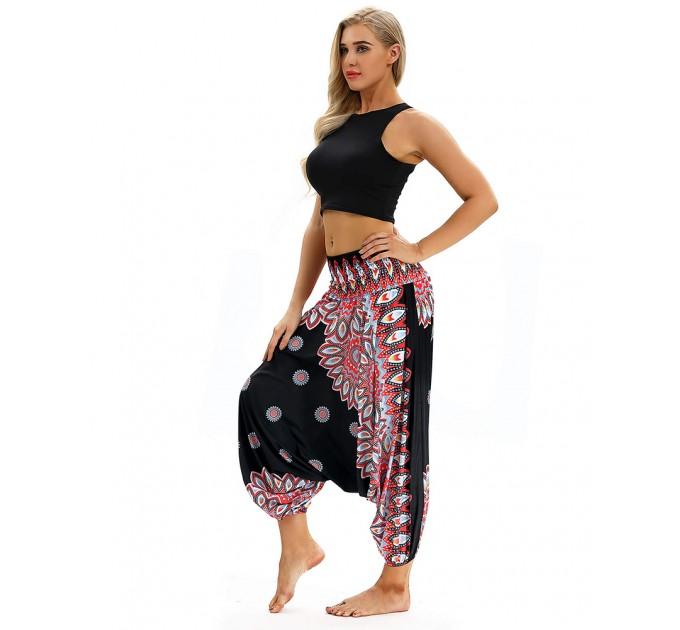 Шаровари штани жіночі стильні чорні