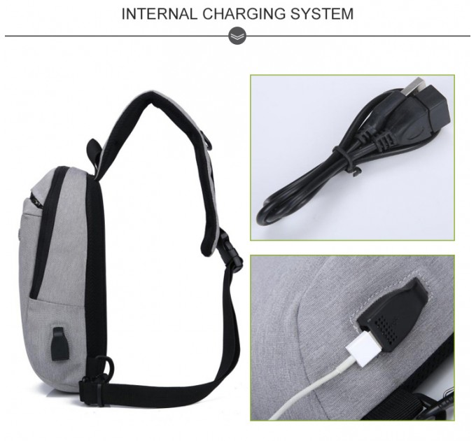 Однолямочний рюкзак через плече