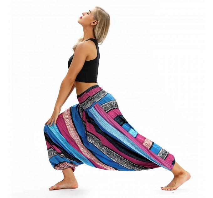 Штани зі спущеною матнею йога