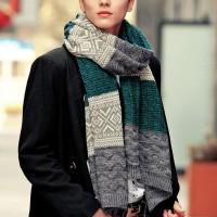 шарф Cтиляга полосатый