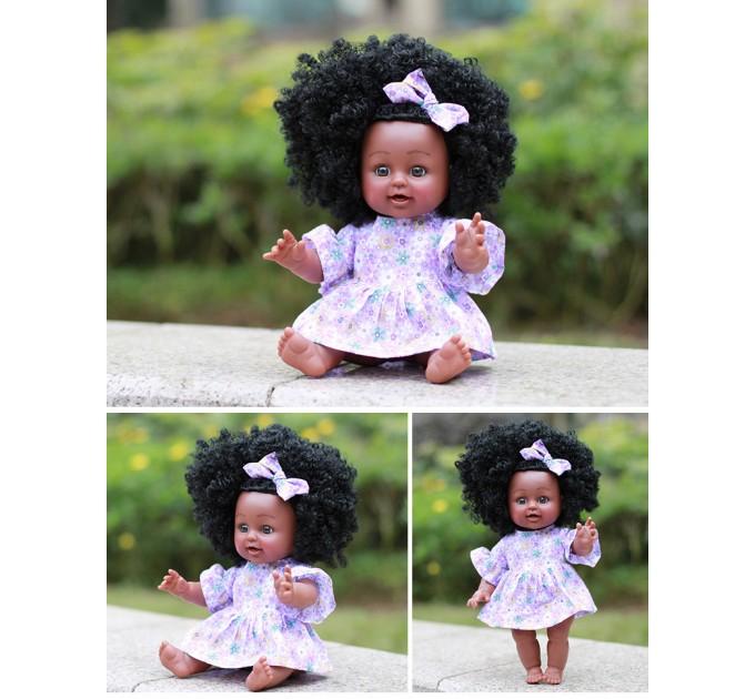 Лялька пупс Африканка