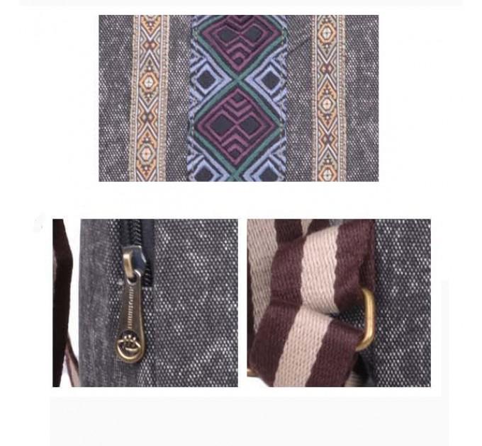 Рюкзак тканинний фолк