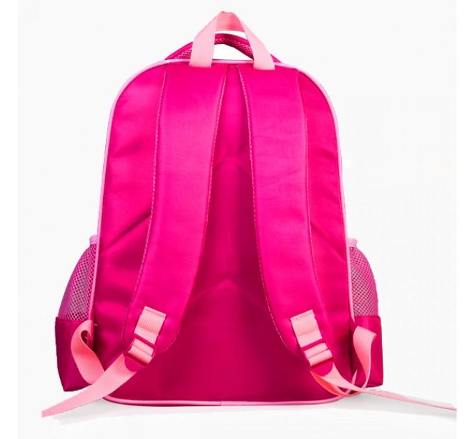 Шкільний рюкзак рожевий з лялькою Барбі