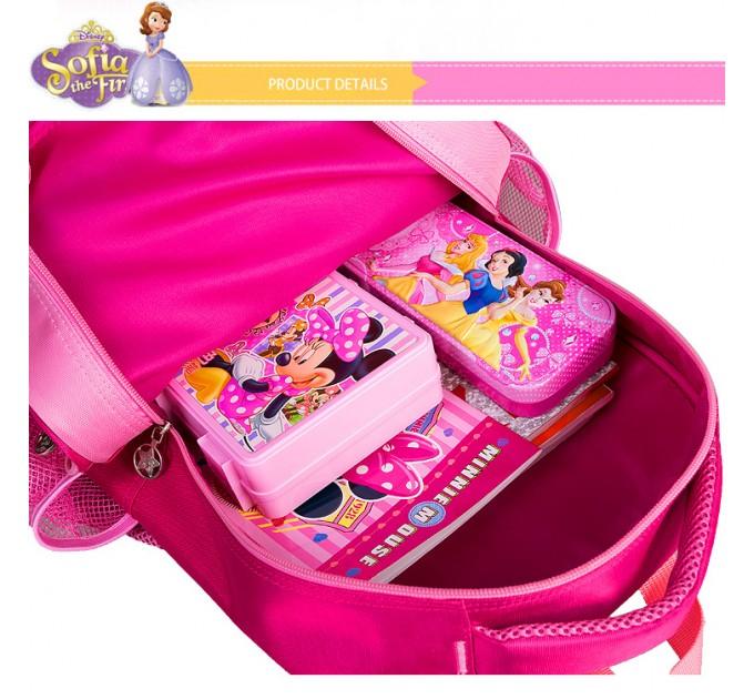 Гарний рюкзак принцеса Софія для школи