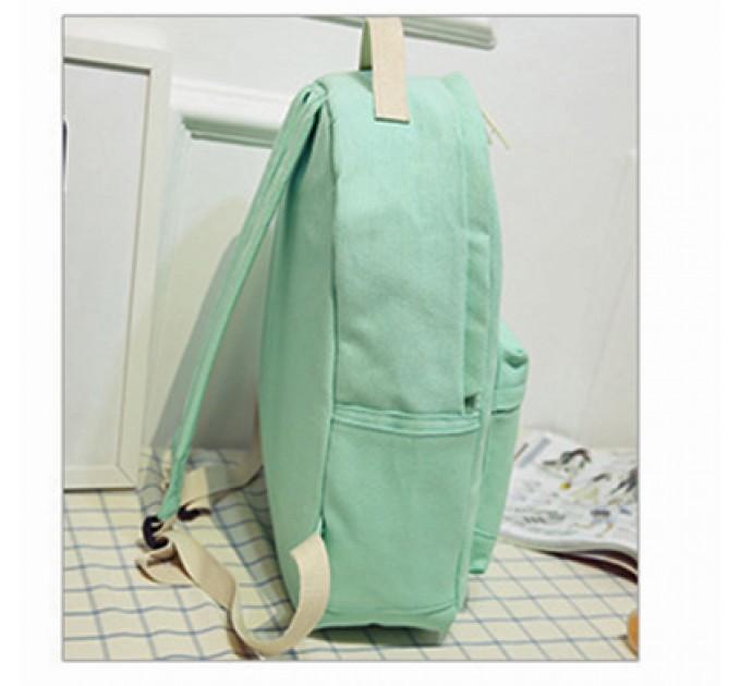 Рюкзак шкільний студентський тканинний