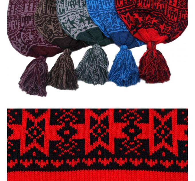 шарф вязаный Раджа