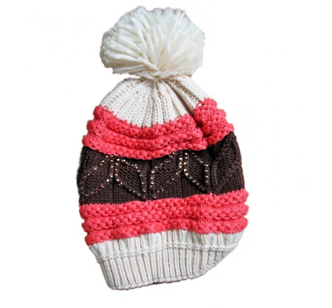 шапка вязаная Бини