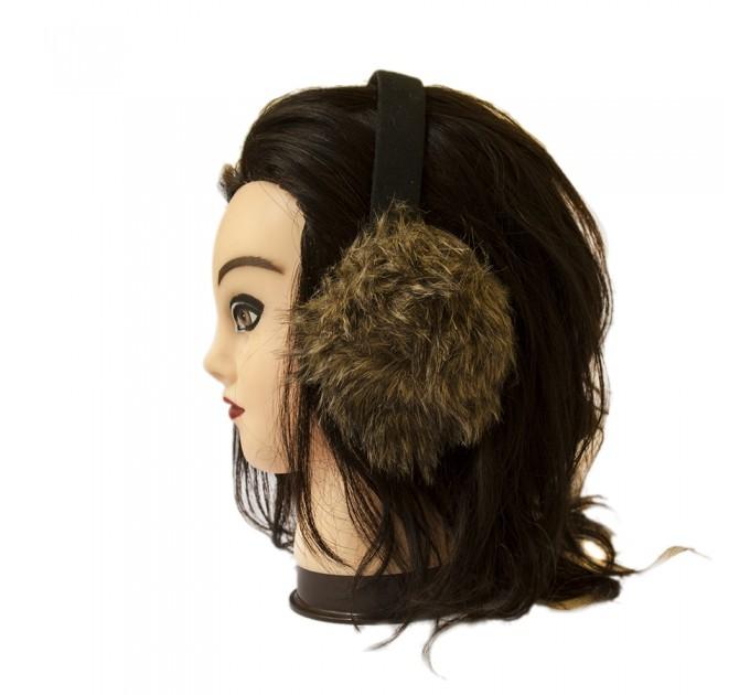 Хутряні навушники єнот
