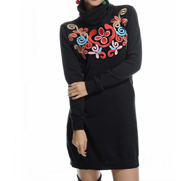 платье черное Еlegant