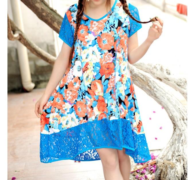 платье Апсара с кружевом
