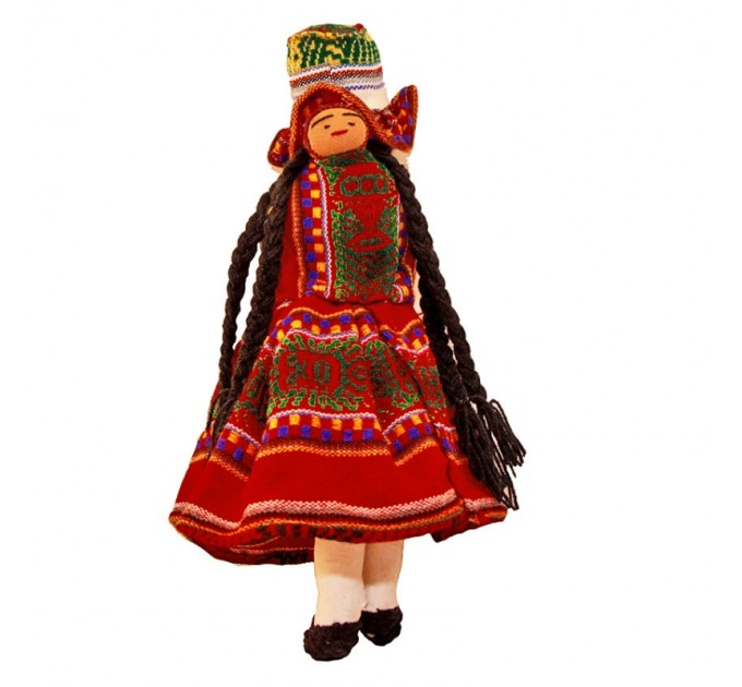 Лялька з тканини мама