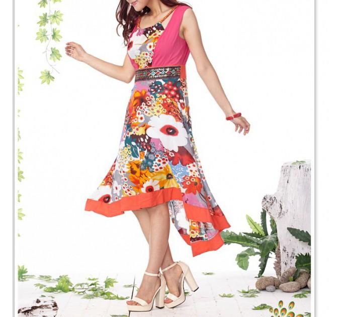 платье Damodar pink