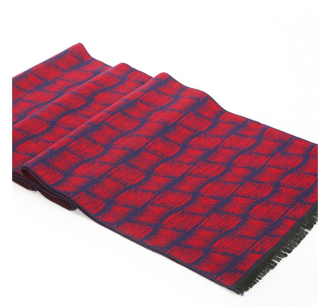 Чоловічий шарф вовна