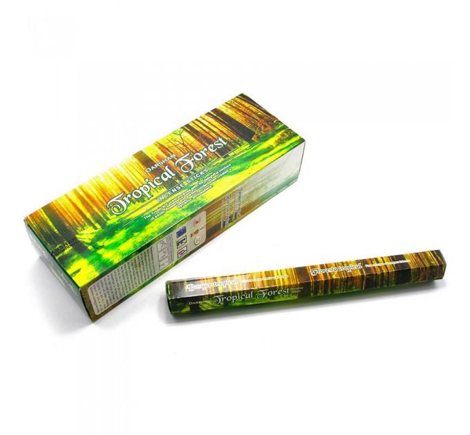 Ароматичні палички tropical forest лісовий запах Darshan