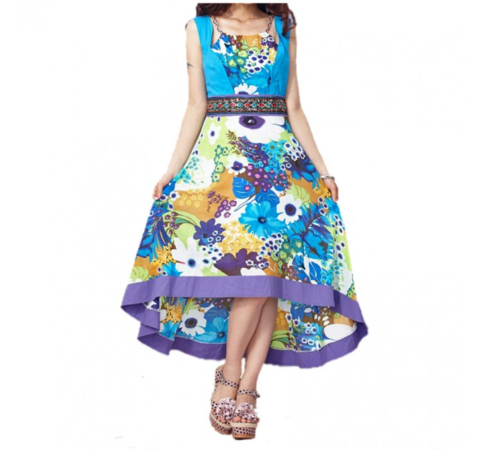 платье Damodar blue