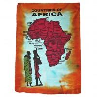 Холст на стену Африка red