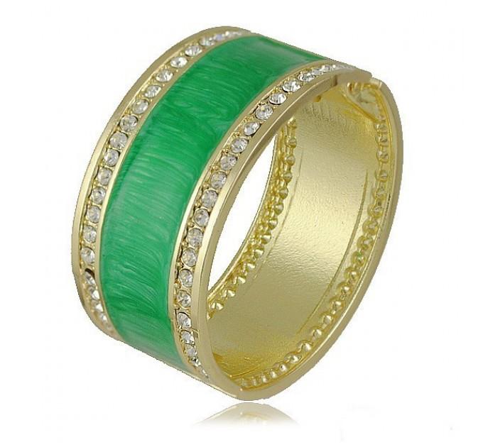 Браслет Адель зелений