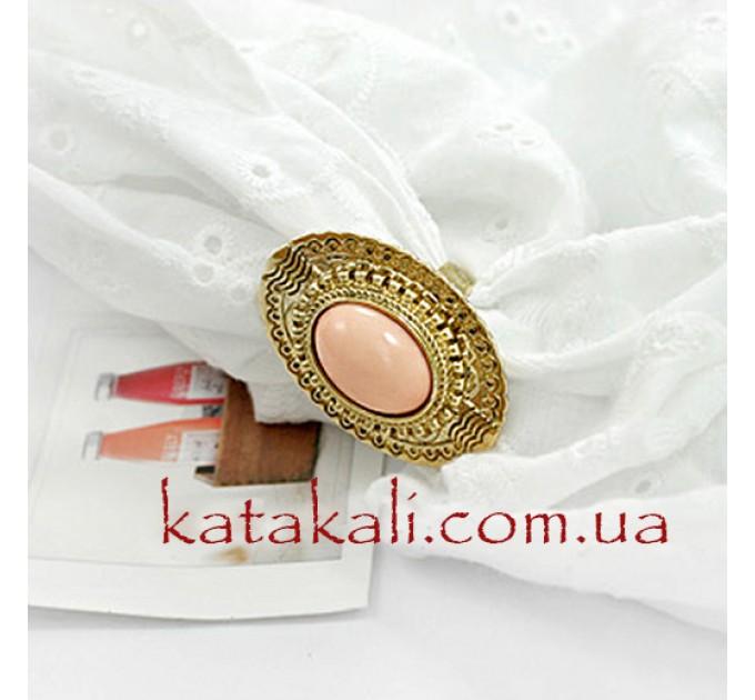 кольцо Бирма pink