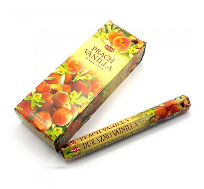Ароматичні палички персик і ваніль пахощі солодкий запах
