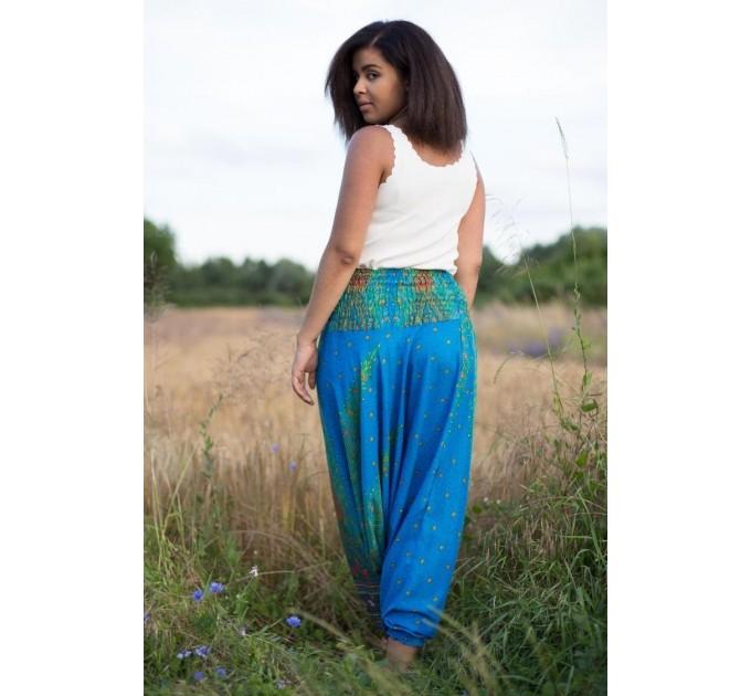 Жіночі штани Аладіни з візерунками бохо