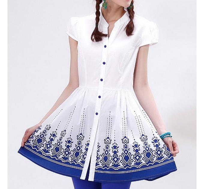 блуза белая Невинность