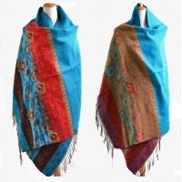 Жіночий шарф великий вовняний