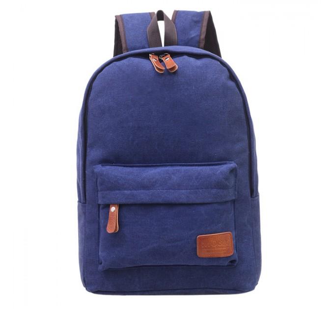 Рюкзак міський blue брезент