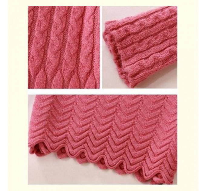 Туника трикотажная pink