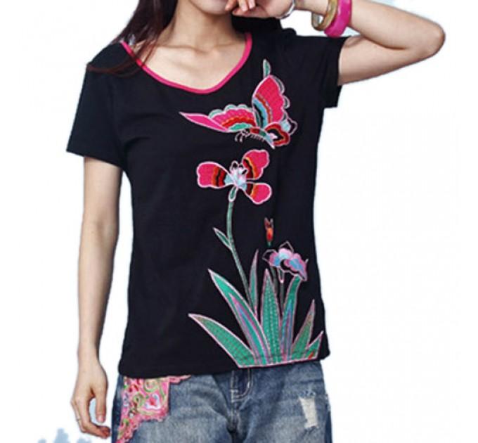 футболка Цветок