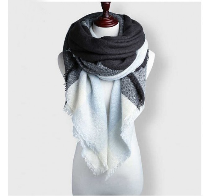 Палантин-шарф зимний