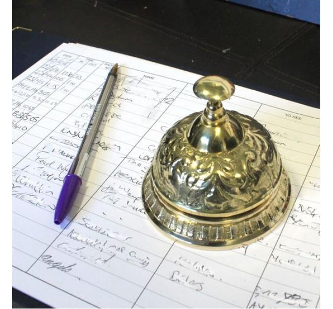 Портьє бронзовий дзвіночок