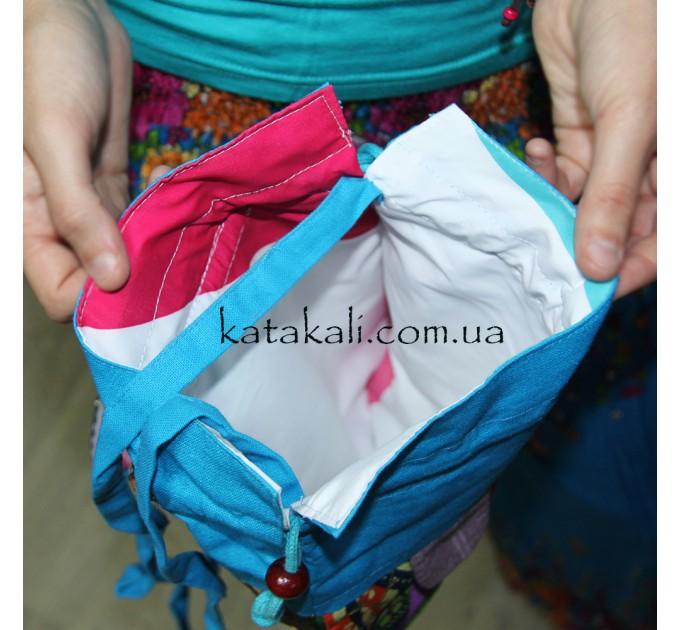 Тканевая сумочка Зайчик