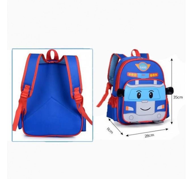 детский рюкзак робокар Поли
