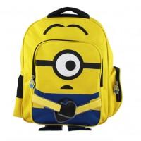 Наплічник шкільний міньйон каркасний жовтий