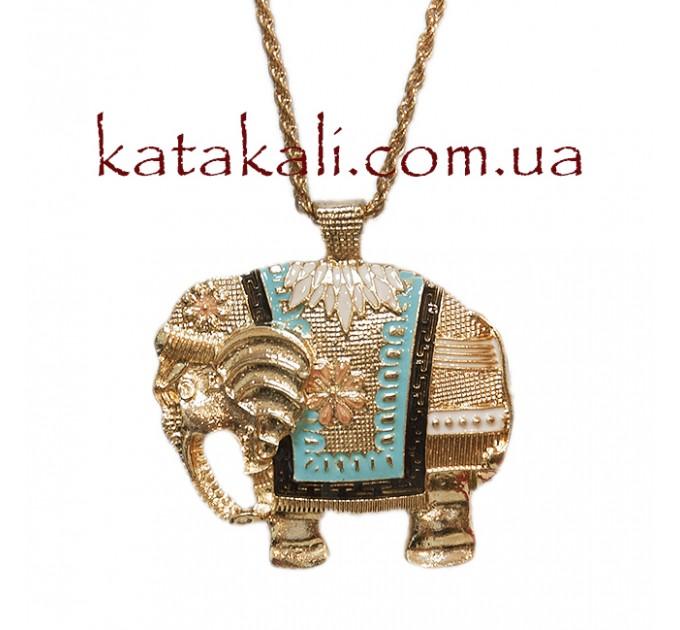 подвеска Золотой слон