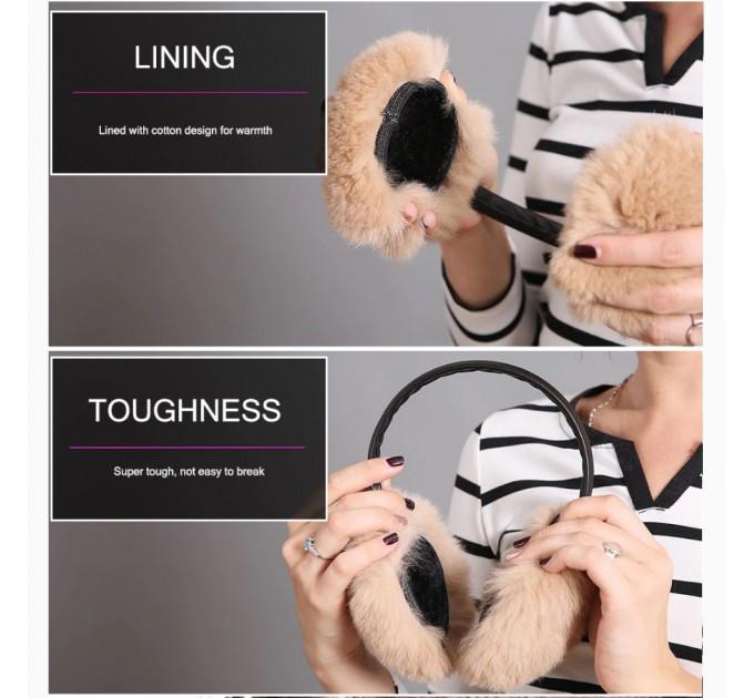 меховые наушники Медвежонок
