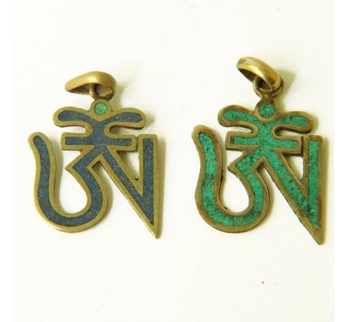 Кулон індійський етнічний знак Ом