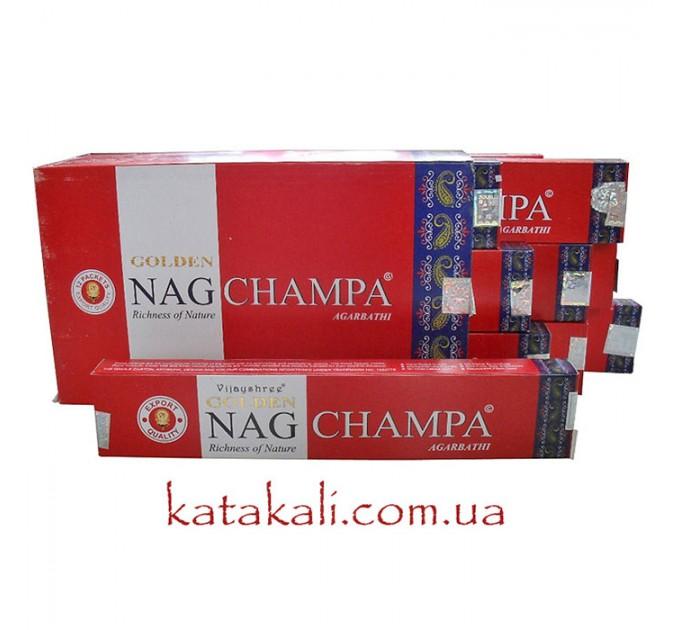 Аромапалички золота чампа golden nag champa