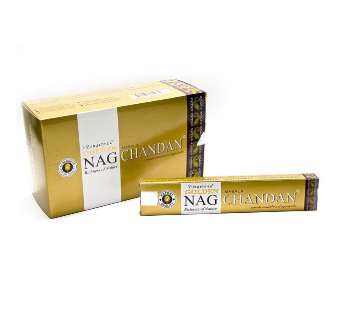 аромапалочки Golden nag chandan