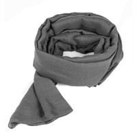 шарф Благородный серый