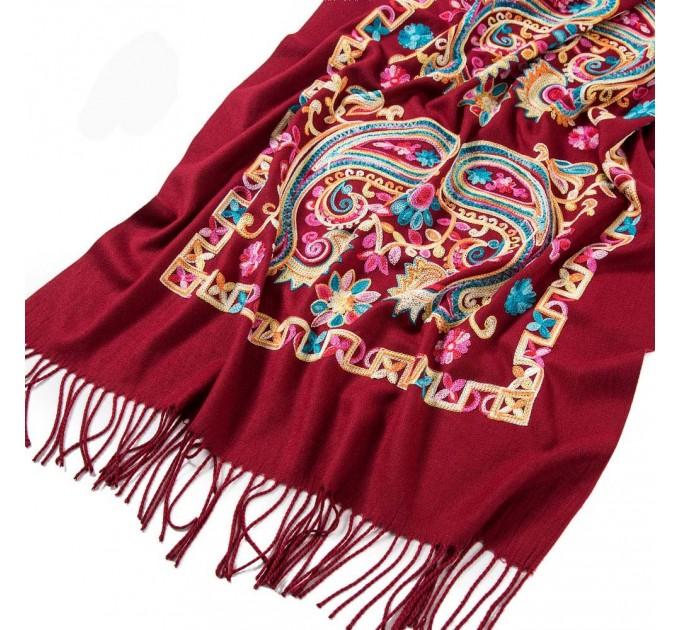 Палантин шарф індійський пейслі