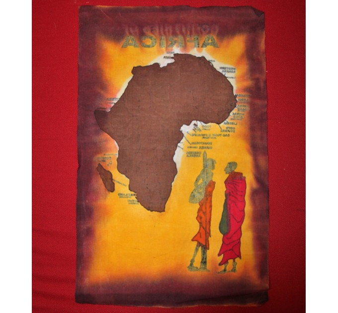 Полотно на стіну Африка red