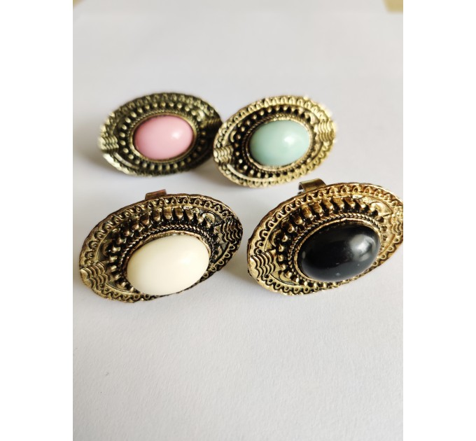 кольцо Бирма blue