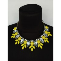 Ожерелье цветное yellow