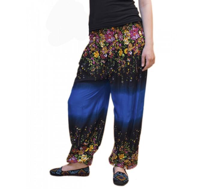 Штани тайські blue