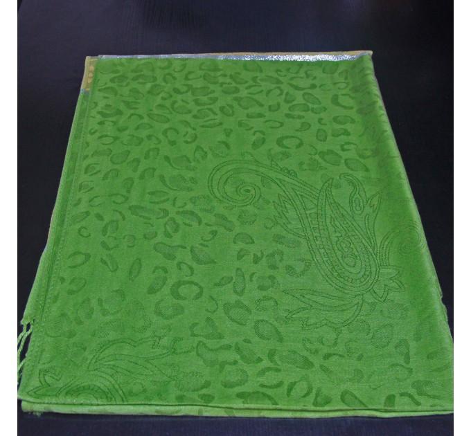 Палантин павлин зеленый