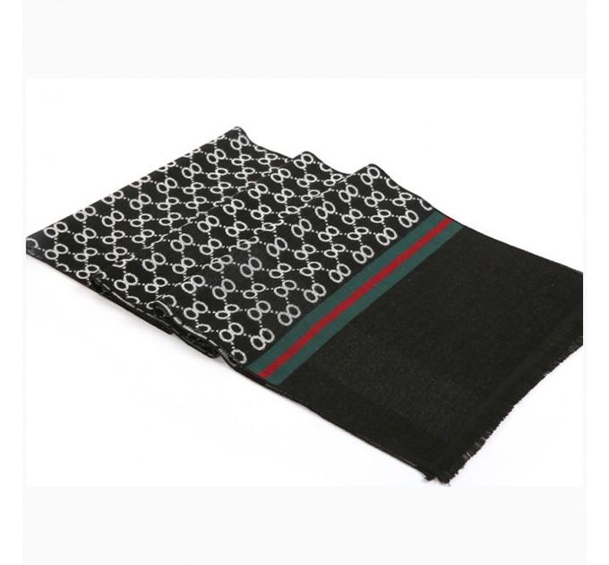 Класичний шарф з кашеміру