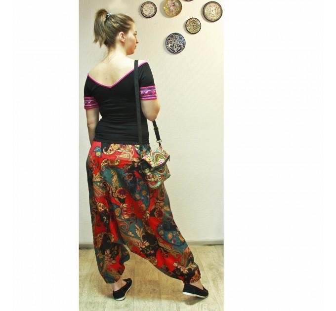 женские брюки Шаровары